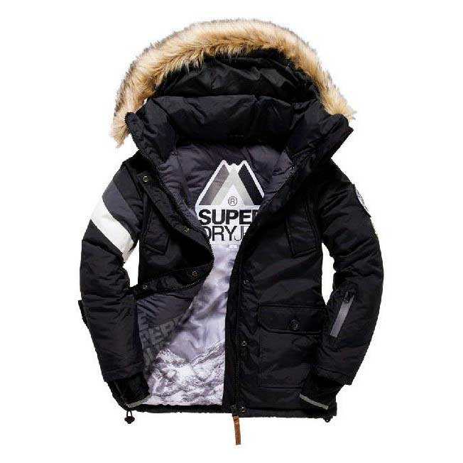 Superdry Mountain Master Everst Hood Jacket W