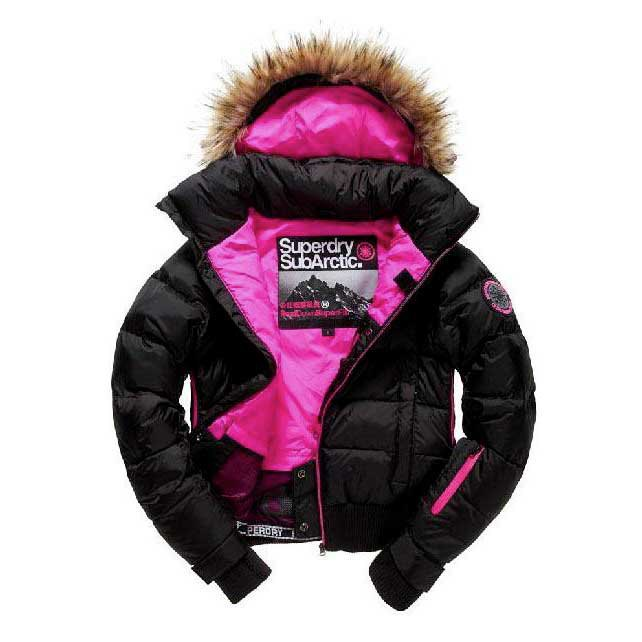 Superdry New Sub Arctic Puffer Bomber