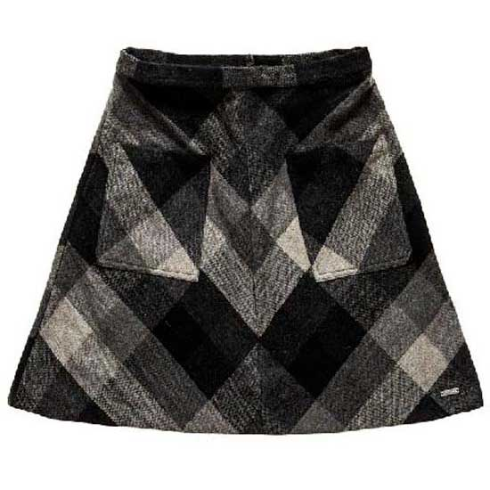 Superdry North Check Mini Skirt