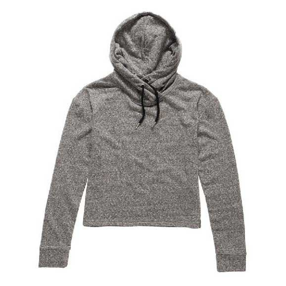 Superdry O L Luxe Blackened Hood