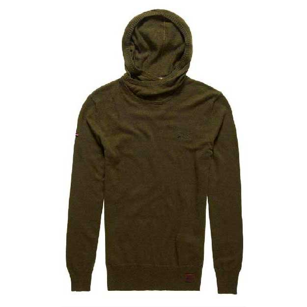 Superdry Orange Labe Crossover Hood