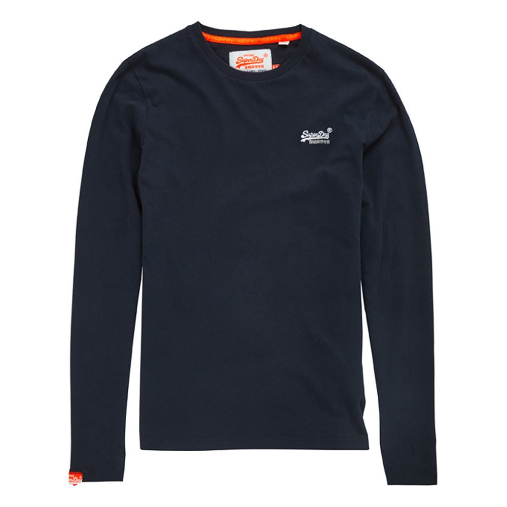 Superdry Orange Label Ls Vntge Emb Tee