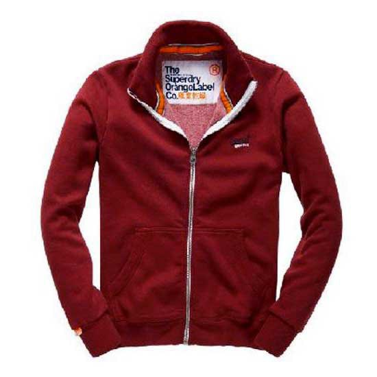 Superdry Orange Label Track Zip Top
