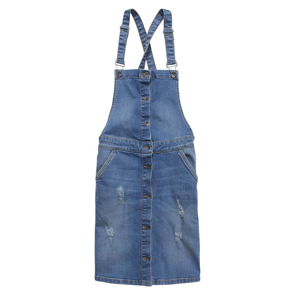 Superdry Pencil Dungaree Dress