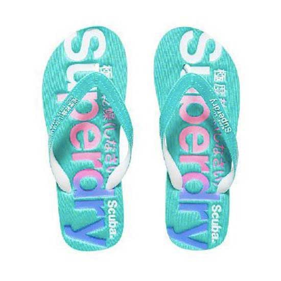 Superdry Scuba Logo Faded Flip Flop