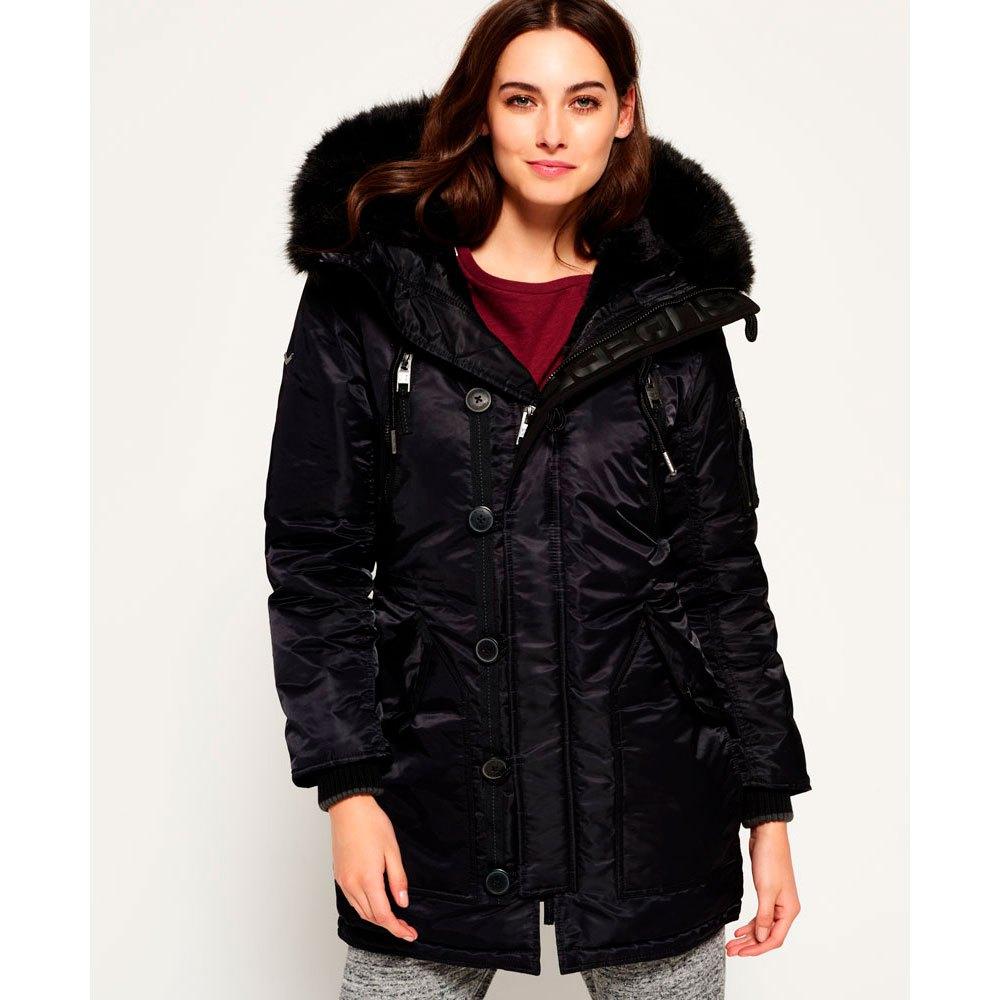 Superdry Sd 4 Parka Black buy and offers on Dressinn ed8c41728ef1