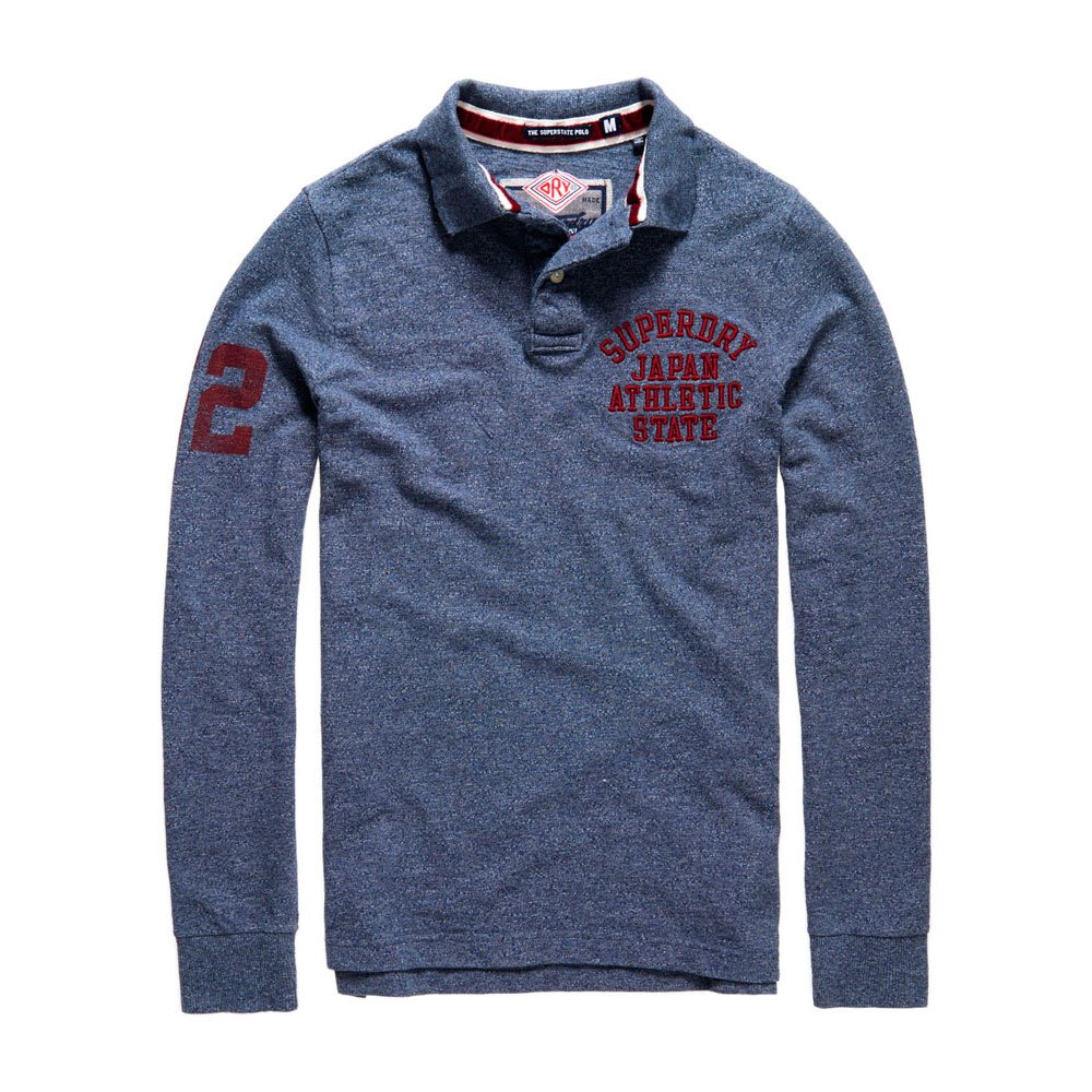 Superdry Super State Ls Polo