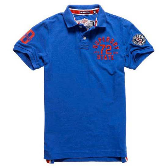 Superdry Super State Ss Pique Polo