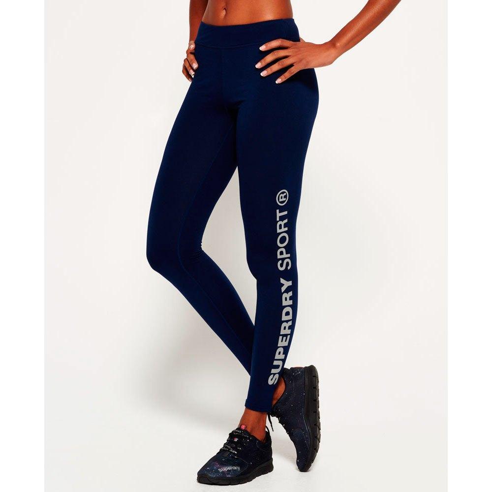 Superdry Core Branded Damen Leggings