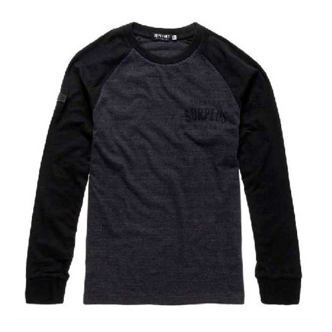 Superdry Surplus Goods Ls Baseball Tee