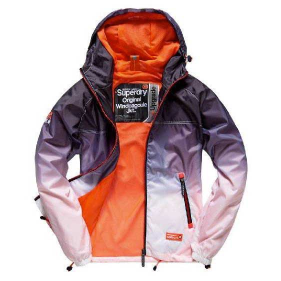 Superdry Tri Clr Zip Thru Spray Cagoule