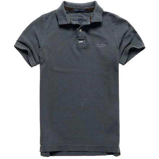 Superdry Vintage Destroy Ss Pique Polo