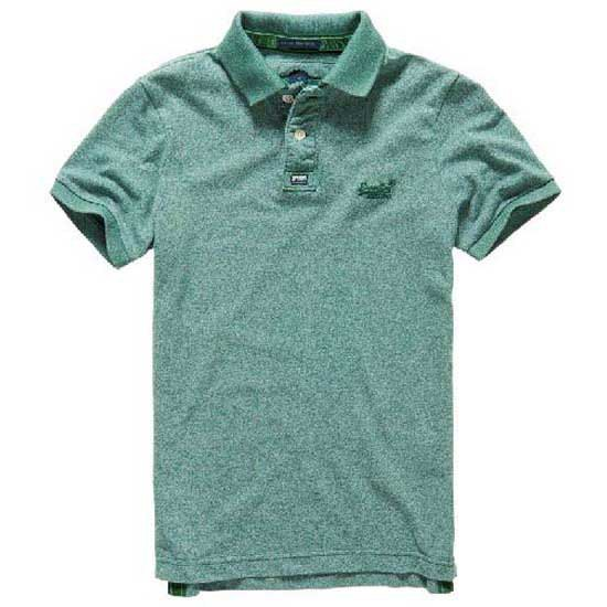 Superdry Vintage Destroyd Snow Ss Polo