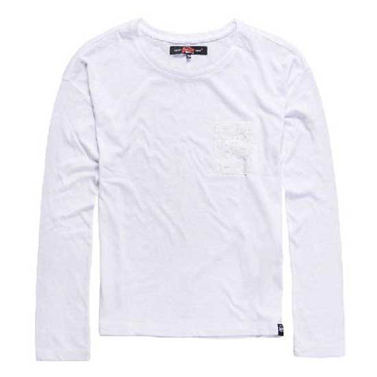 Superdry Viscose Neppy Ls Tee