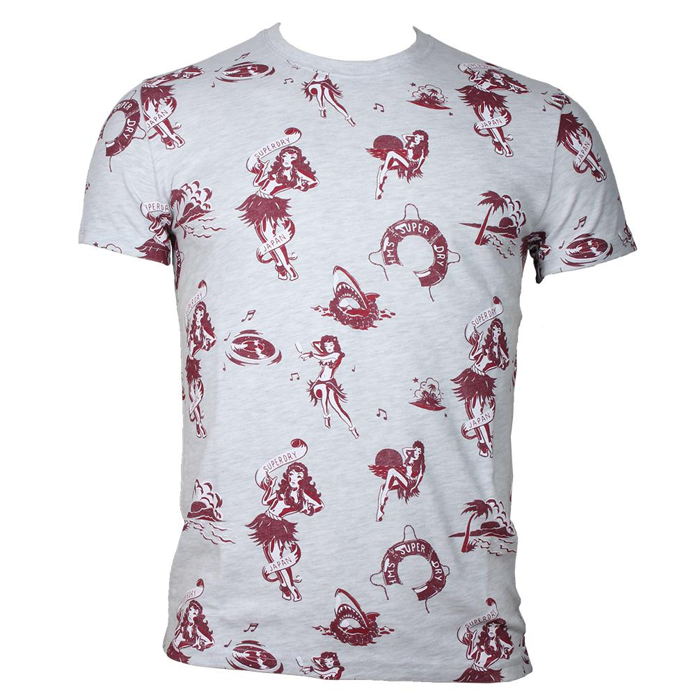 Superdry Dry Hawaiian Aop Tee