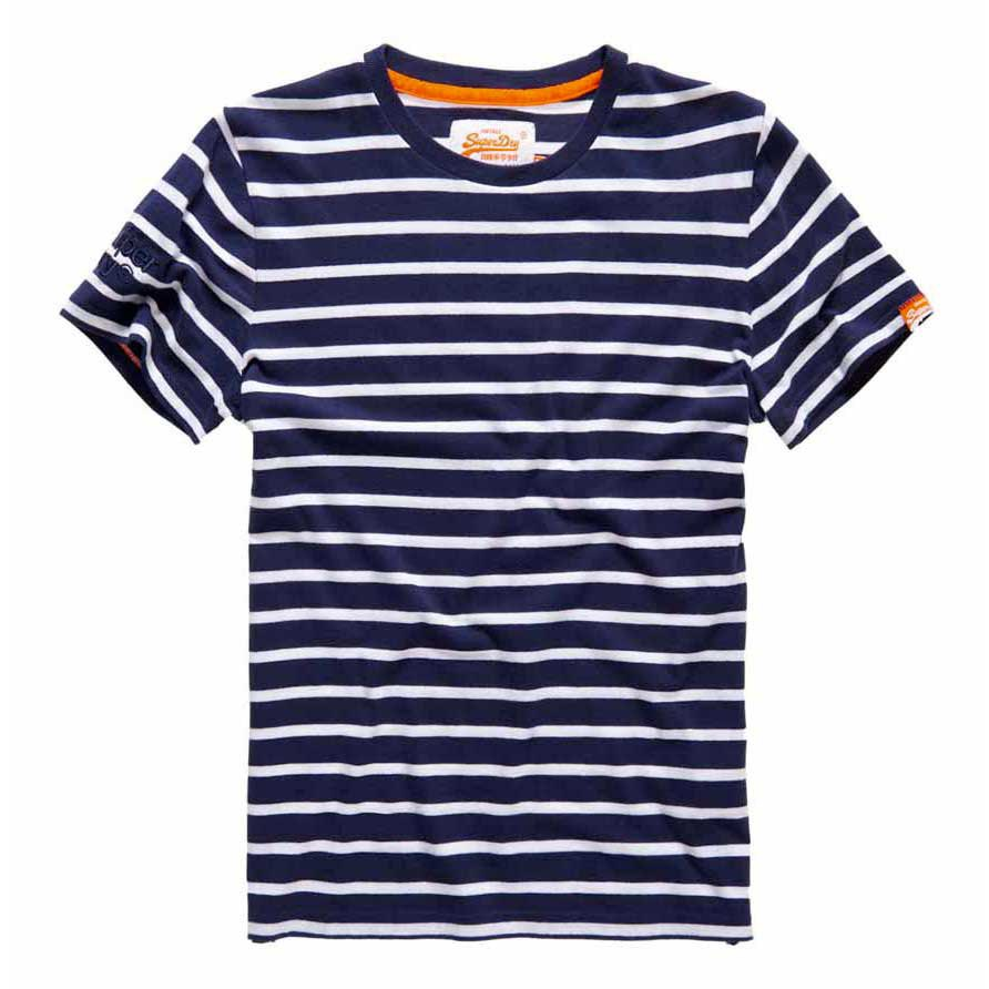 Superdry Orange Label Brittany Stripe Tee