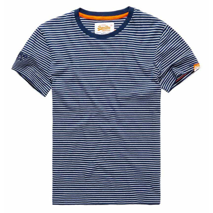 Superdry Orange Label Calais Stripe Tee