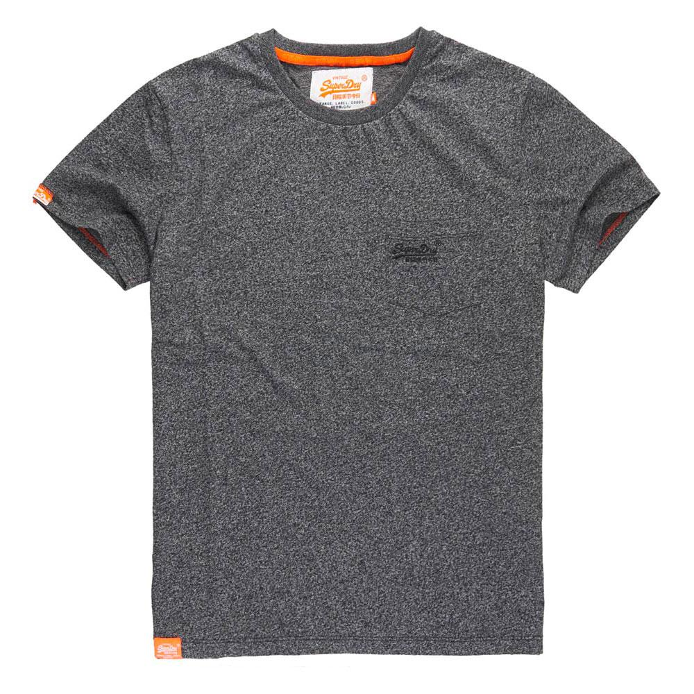 Superdry Ornge Lbel Pop Grit Pocket Tee