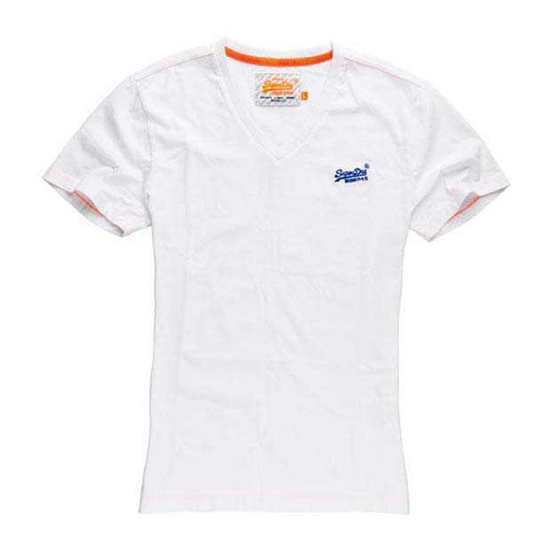Superdry Orange Label Vintage Embroidery Vee Tee