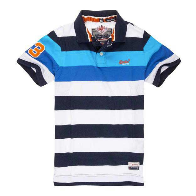 Superdry Duo Hoop Stripe Polo
