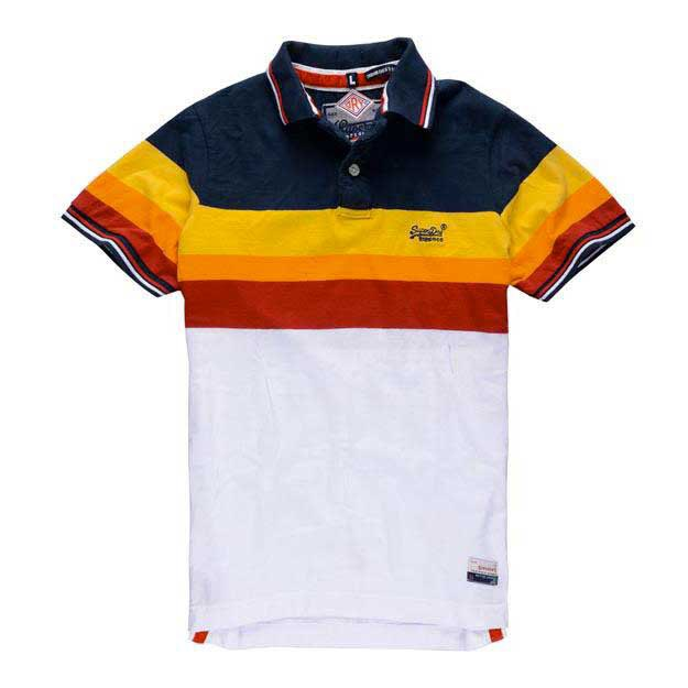 Superdry Triband Chest Stripe Polo
