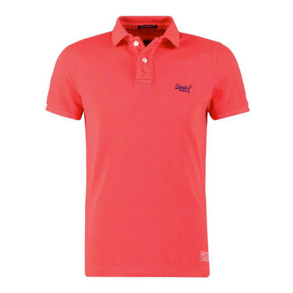 Superdry Vintage Destroyed Ss Pique Polo