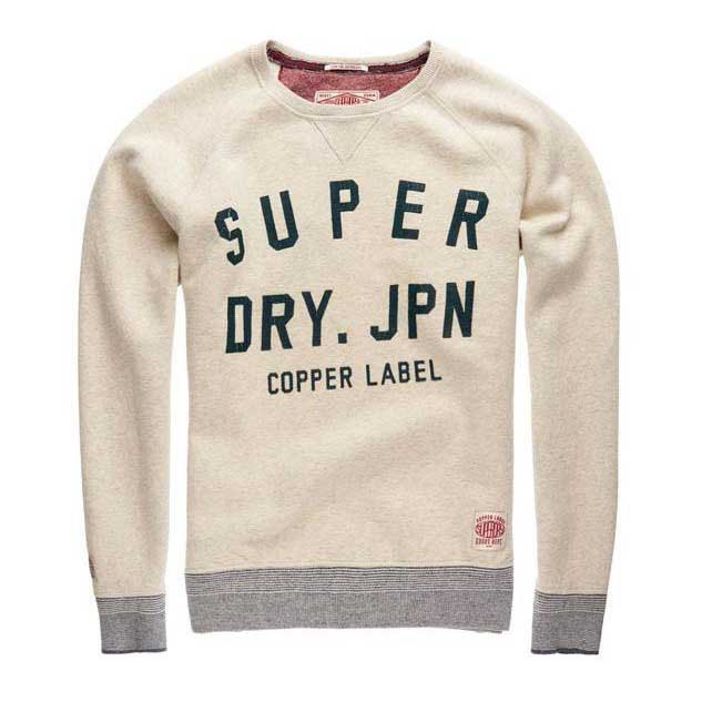 Superdry Copper Label Fastback Crew Sweat