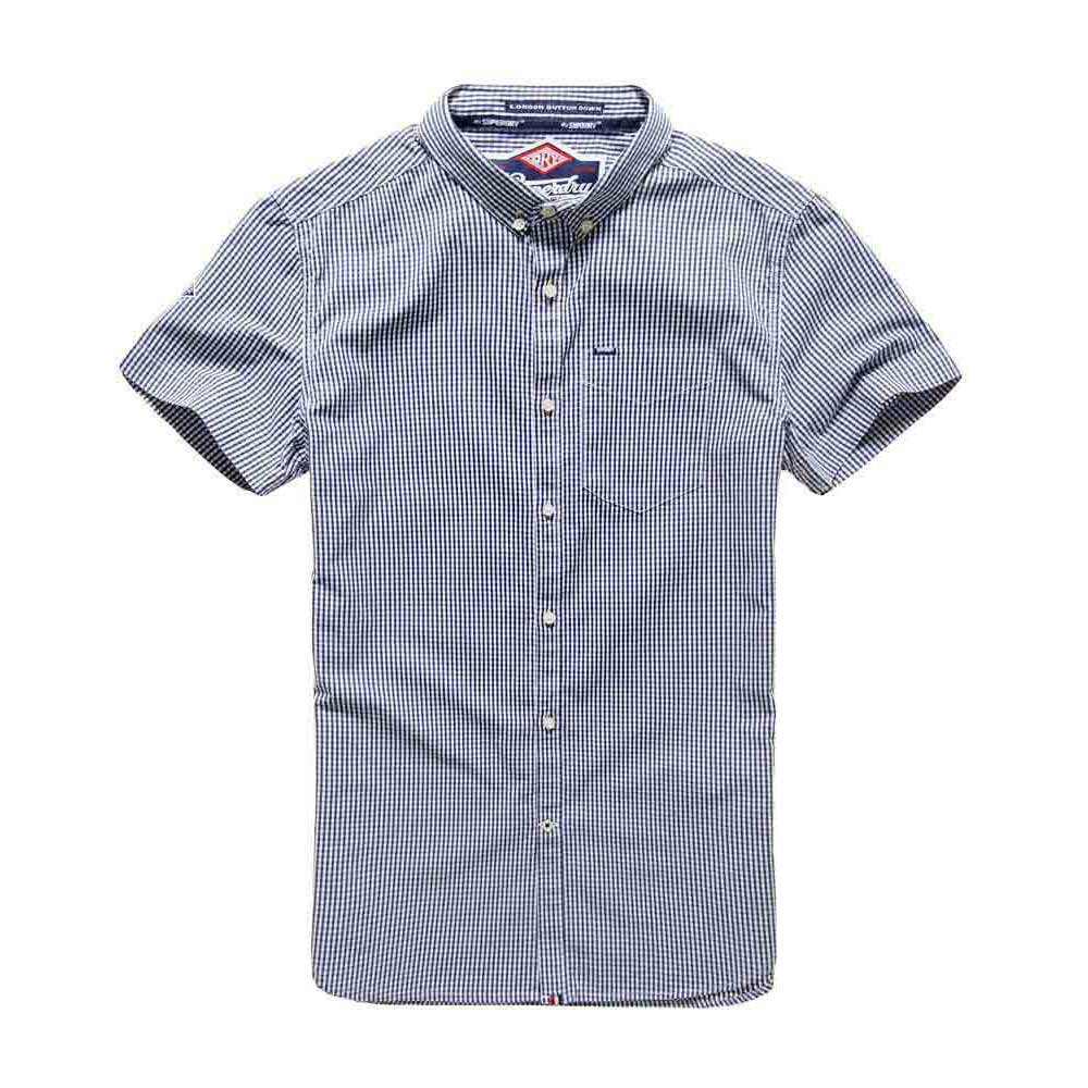Superdry London Button Down Ss Shirt
