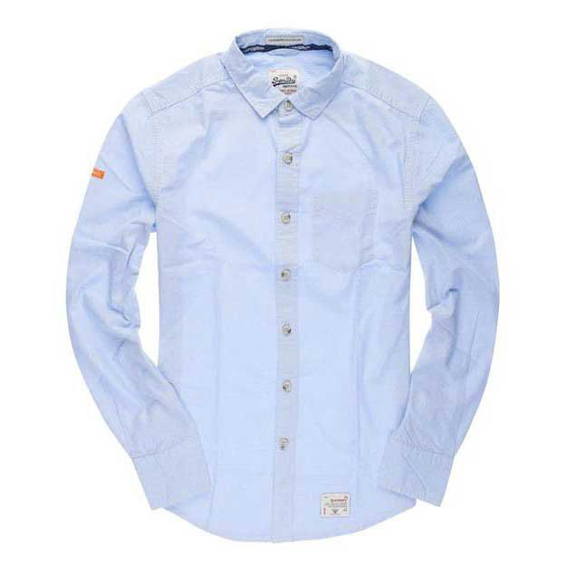 Superdry Dobbie Laundered Cut Collar Shirt
