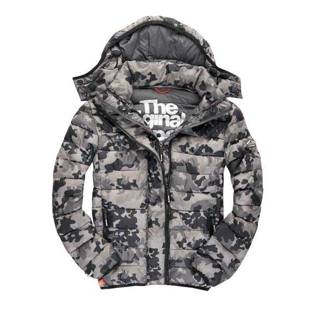 Superdry Fuji Camo Double Zip Hood