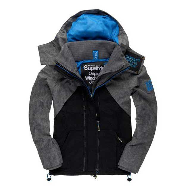 Superdry Hooded Technical Wind Hybrid