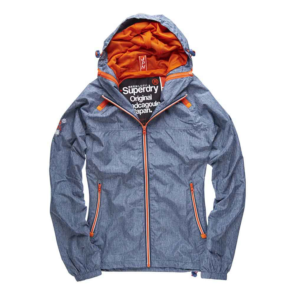 Superdry Dual Zip Through Tri Colour Cagoule