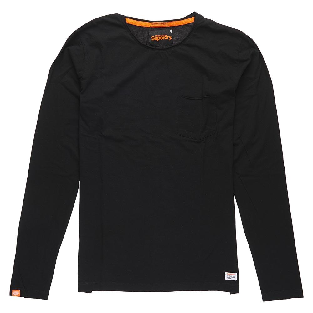Superdry Lite Loomed Cut Curl Ls Tee