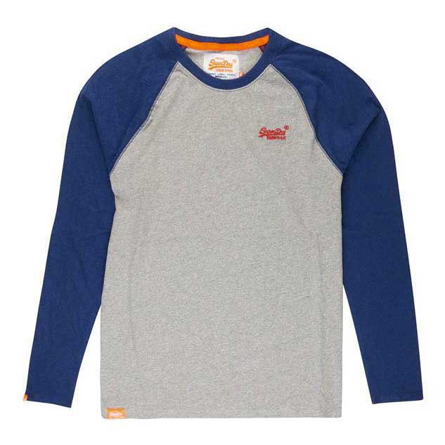 Superdry Orange Label Ls Baseball Tee