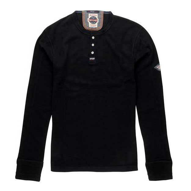 3b5320ae Superdry Heritage Ls Grandad buy and offers on Dressinn