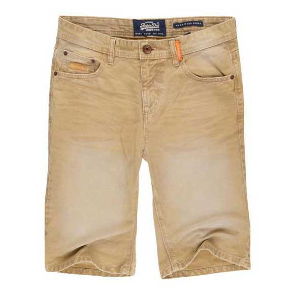Superdry Worn Wash Jean Short