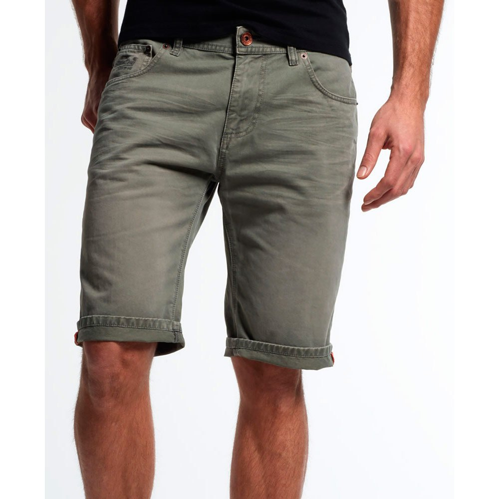 Superdry Worn Wash Jean Shorts
