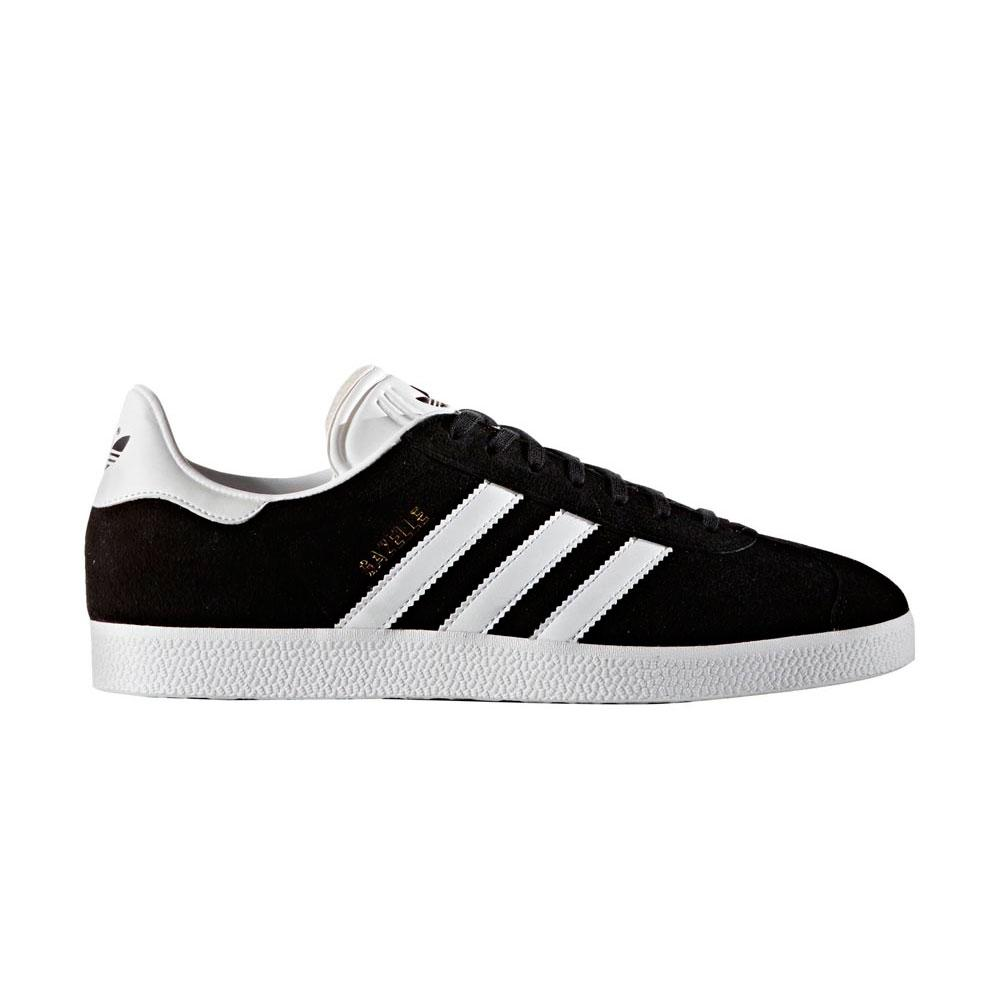 Adidas-originals Gazelle EU 39 1/3 Core Black / White / Gold Met