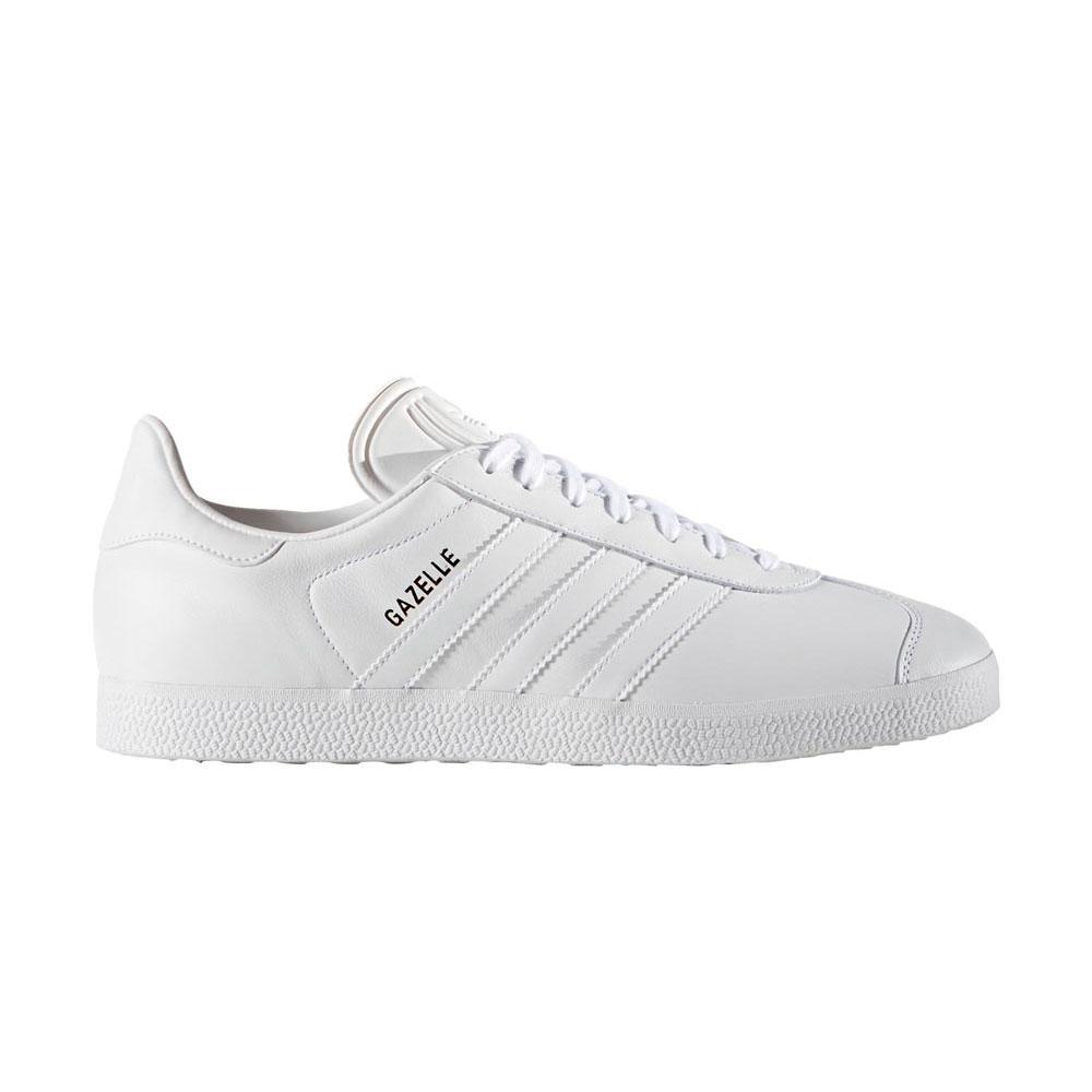 Adidas-originals Gazelle EU 39 1/3 Ftwr White / Ftwr White / Gold Met