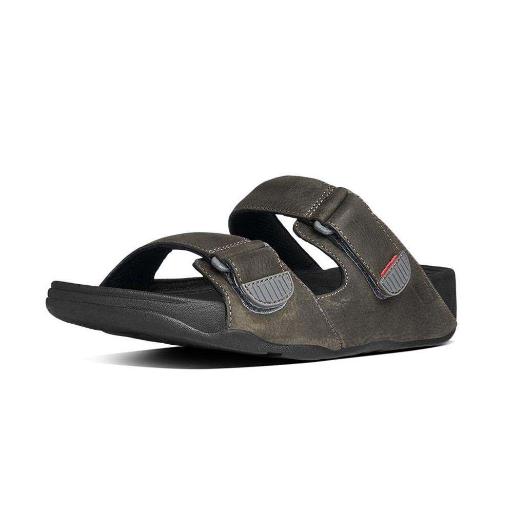 Fitflop Gogh Slide Adjustable Leather