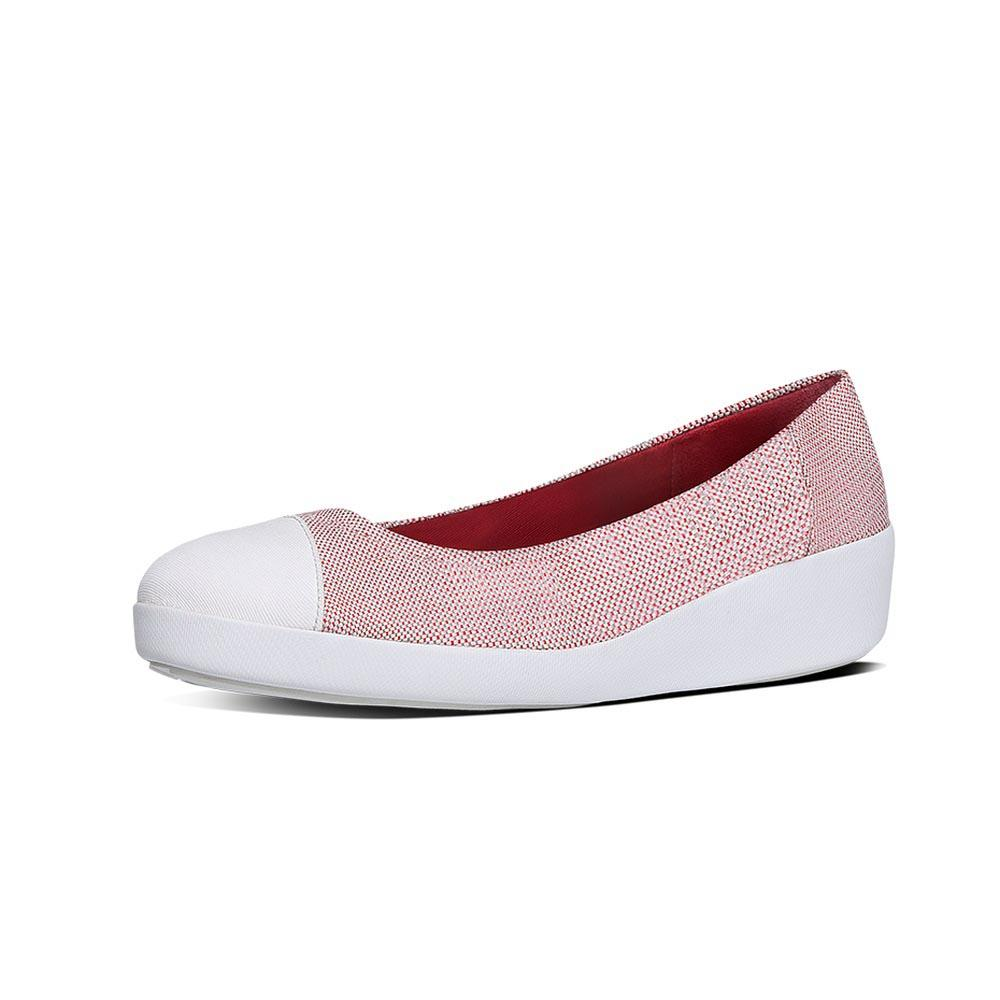 Fitflop F Pop Ballerina Canvas