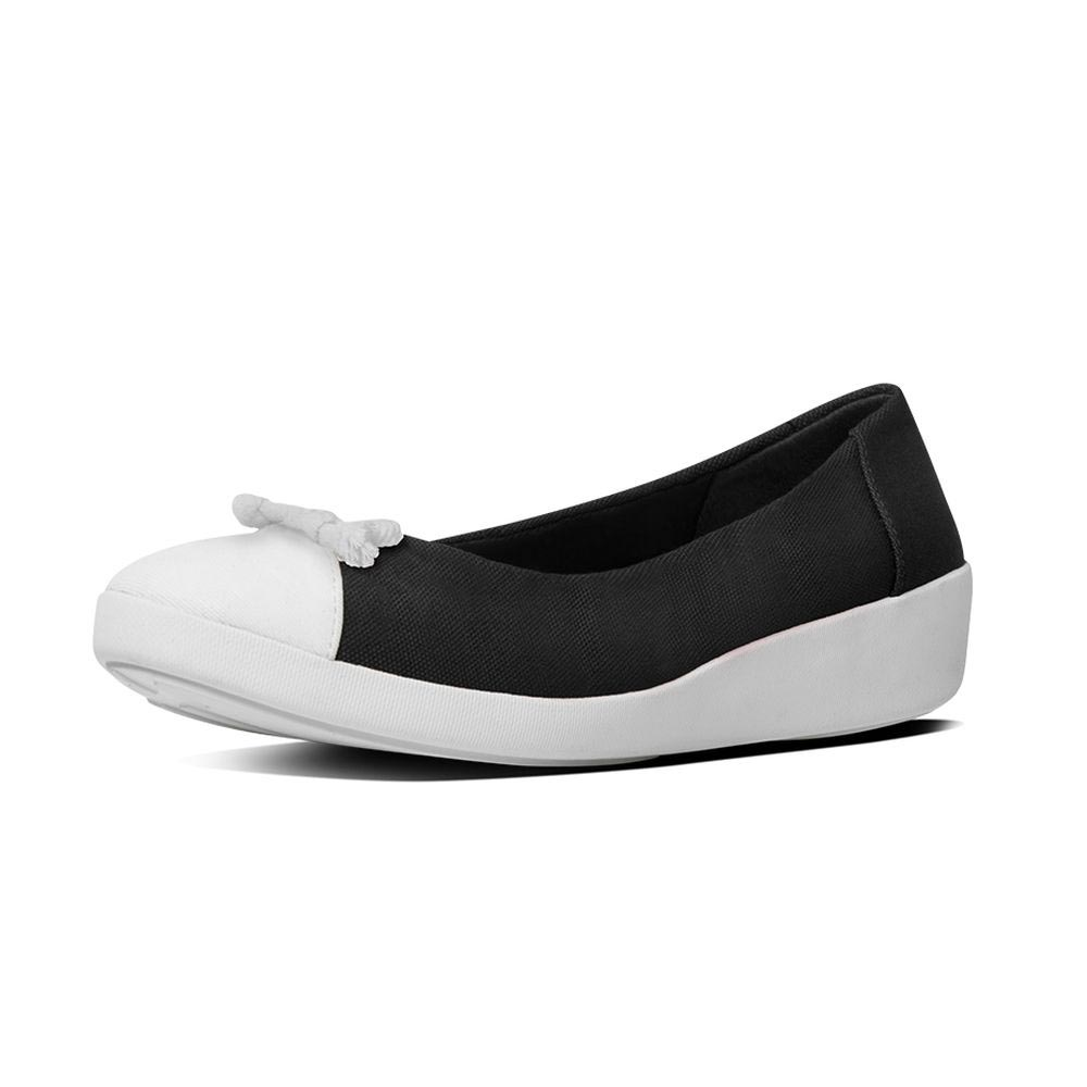 Fitflop F Pop Bow Ballerina