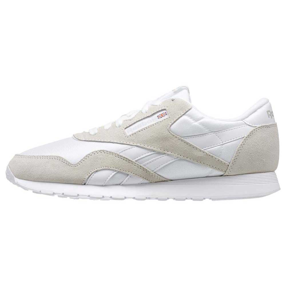 Sneakers Reebok-classics Cl Nylon EU 33 White / Light Grey