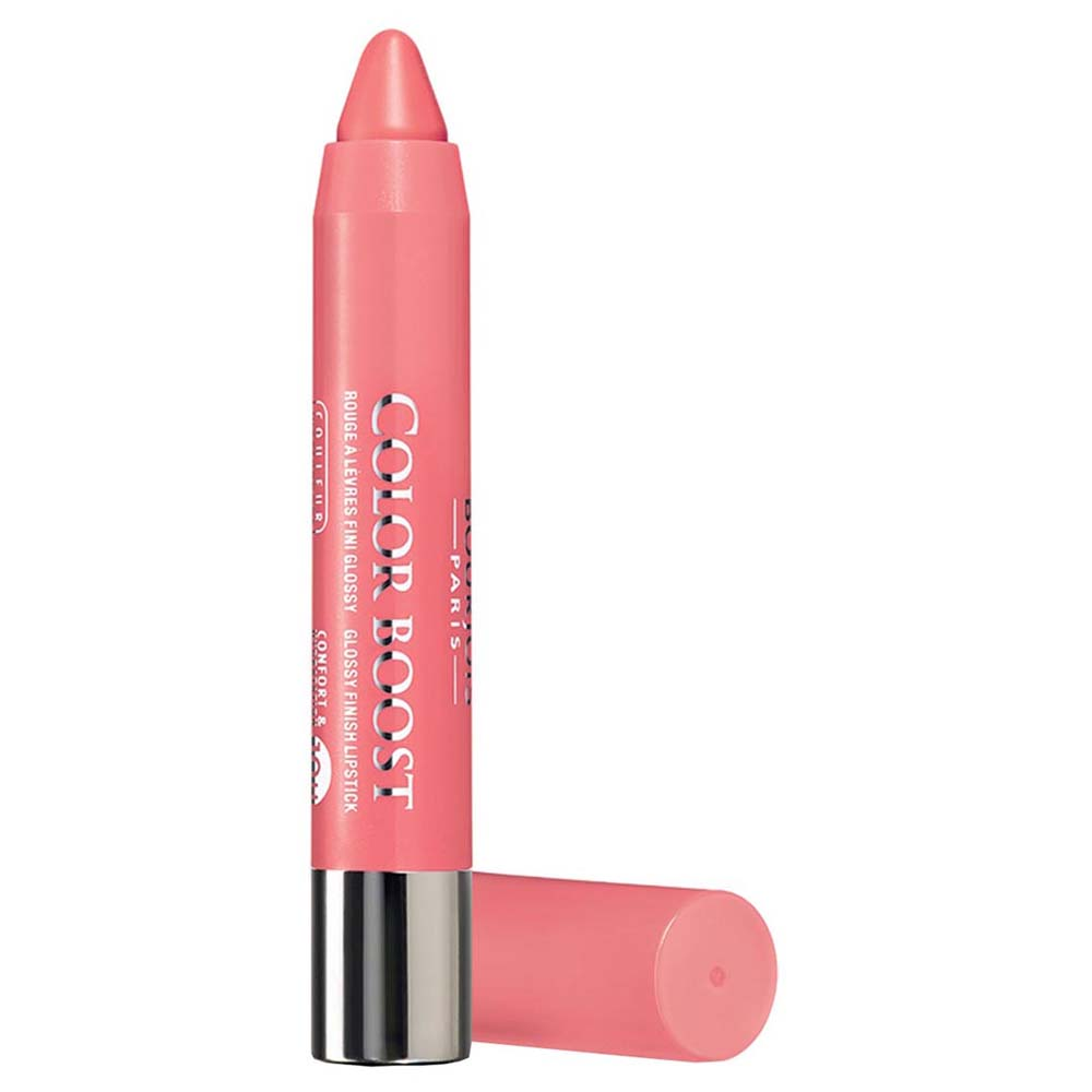Bourjois fragrances Color Boost Glossy Finish Lipstick 04 Peach Beach
