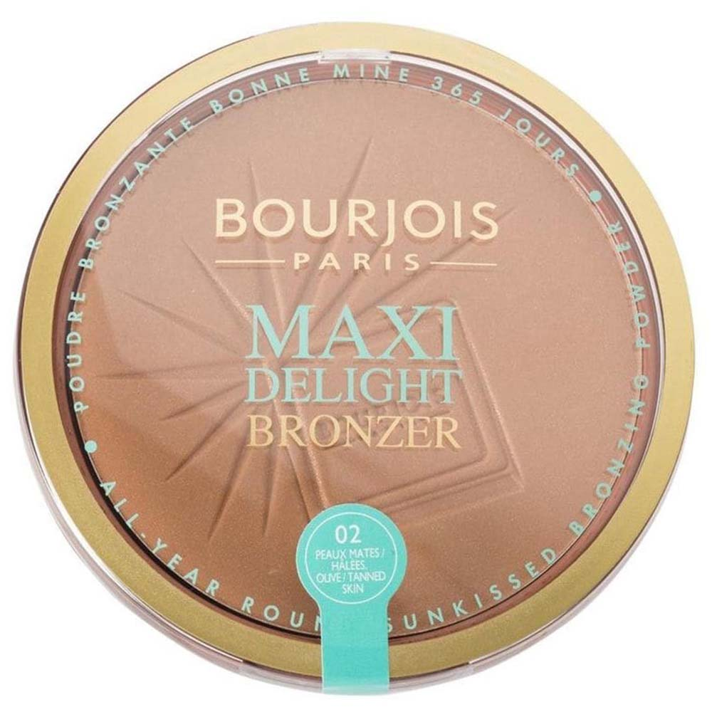 Bourjois Maxi Delight Bronzer Powder 02 Mate