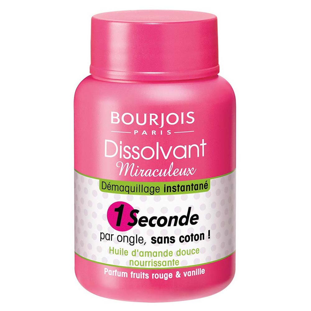 Bourjois Nail Polish Remover Miraculous 1Second 75 ml