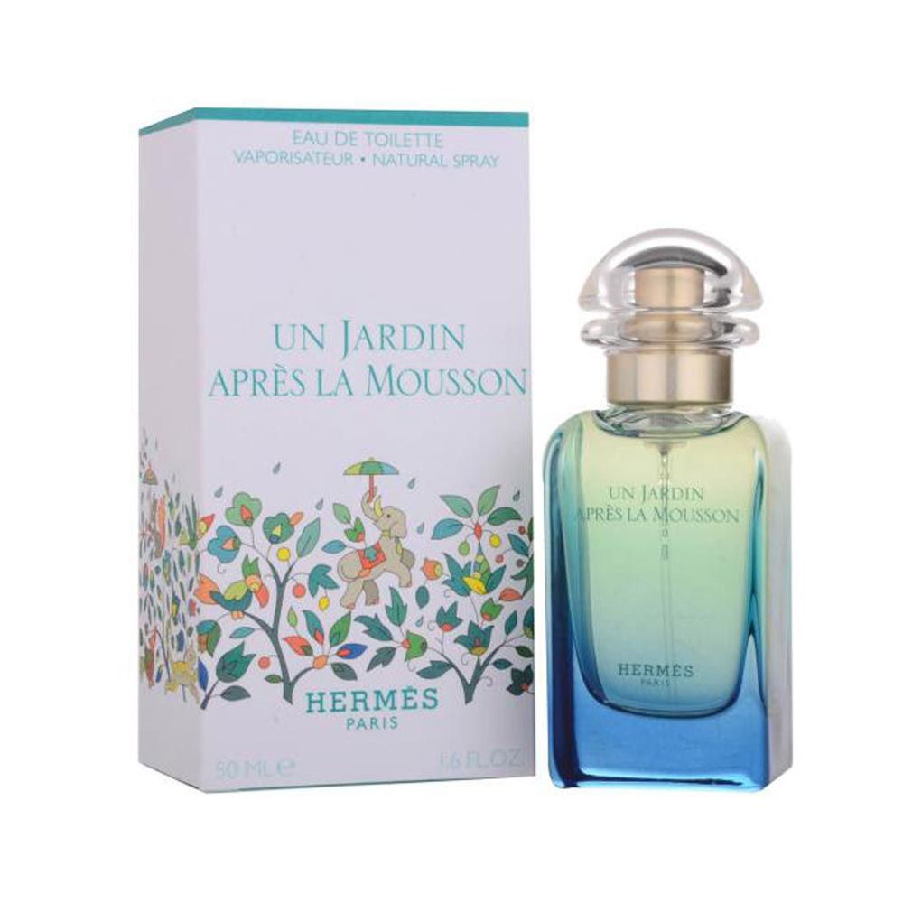 Hermes paris fragrances Jardin Apres Mousson Eau De Toilette 50ml