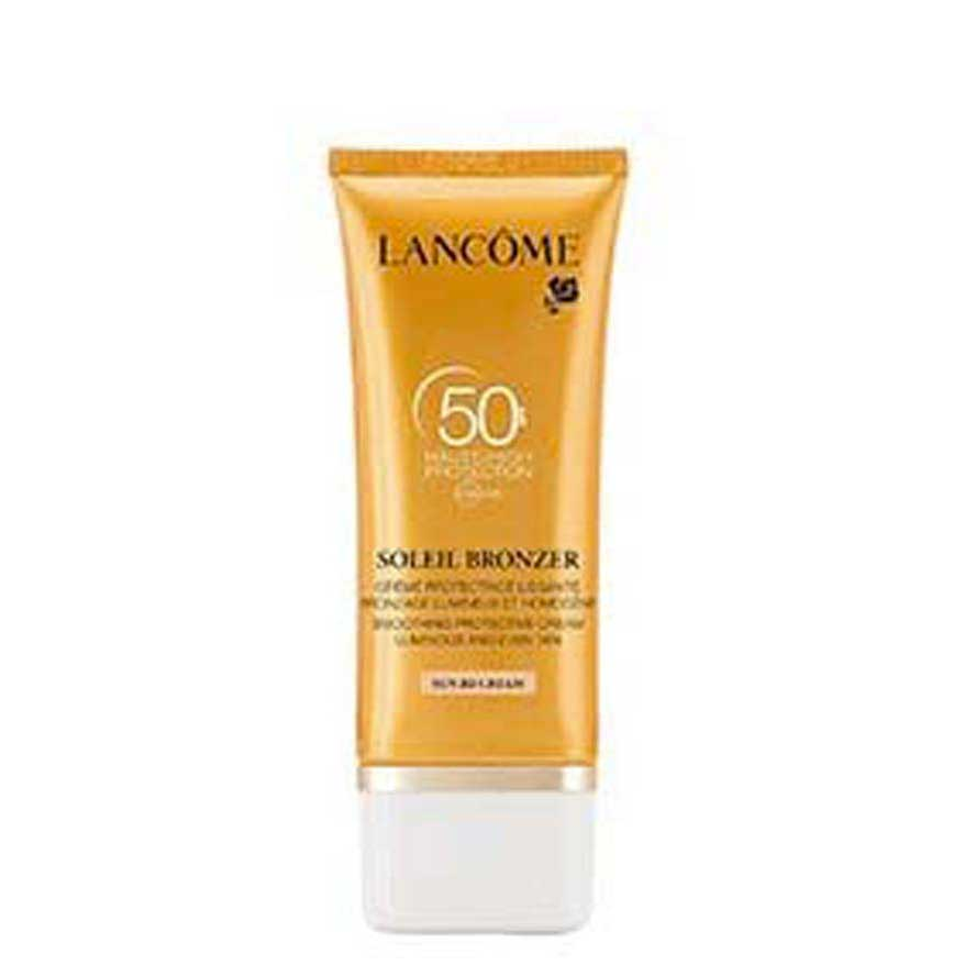 Lancome Soleil Bronzer Spf50 Smoothing And Refreshing Protective Cream 50 ml