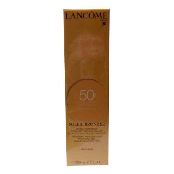 Lancome fragrances Soleil Bronzer Spf50 Smoothing And Refreshing Protective Mist 200ml