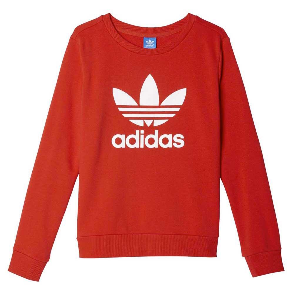 Trefoil Crew Sweater Adidas Originals Originals Crew Adidas Trefoil OX80wnNPkZ